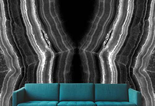 Couch black white pinklaceagate 1282315